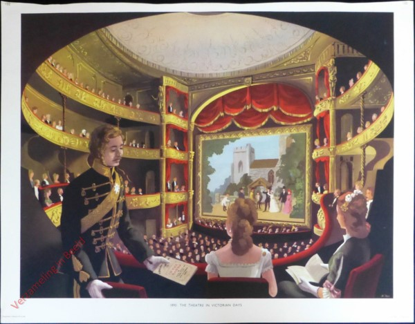 Set 3-132 - 1890. The theatre in Victorian days