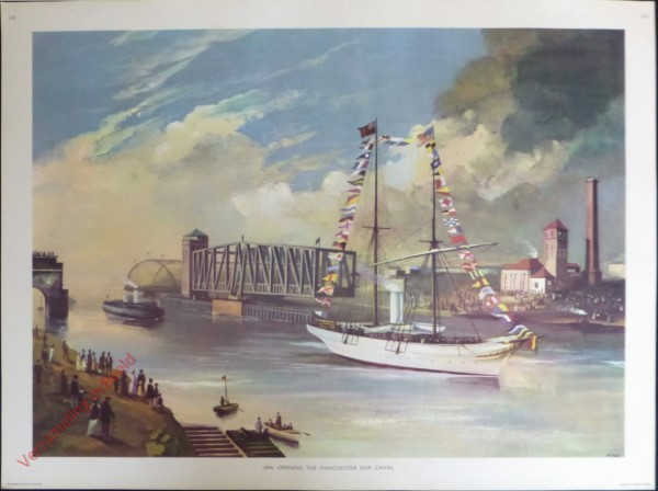 Set 3-133 - 1894. Opening the Manchester ship canal