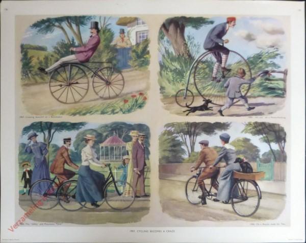 Set 3-136 - 1900. Cycling becomes a craze
