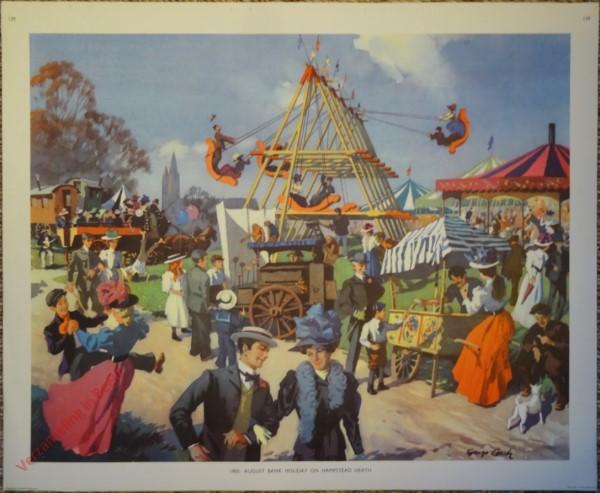 Set 3-139 - 1900. August bank holiday on Hampstead Heath