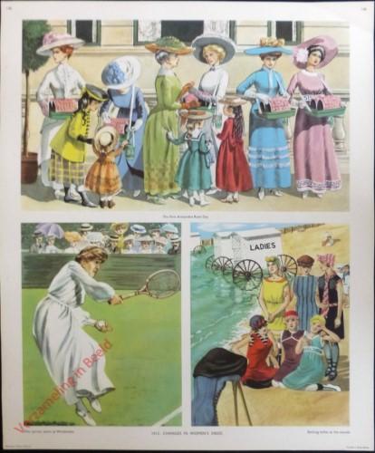 Set 3-146 - 1912. Changes in women's dress