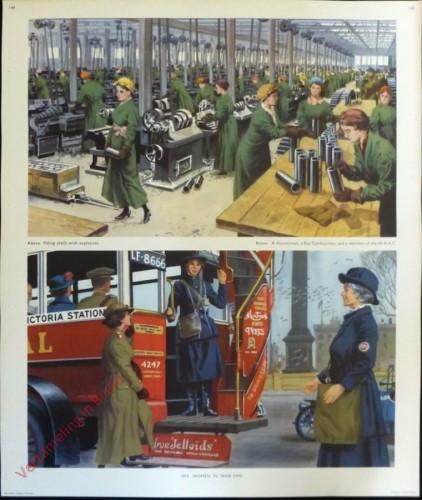 Set 3-149 - 1915. Women In War Time