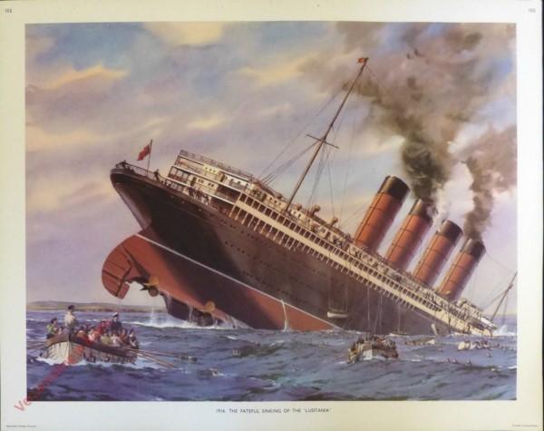 Set 3-152 - 1916. The Fateful Sinking of the Lusitania