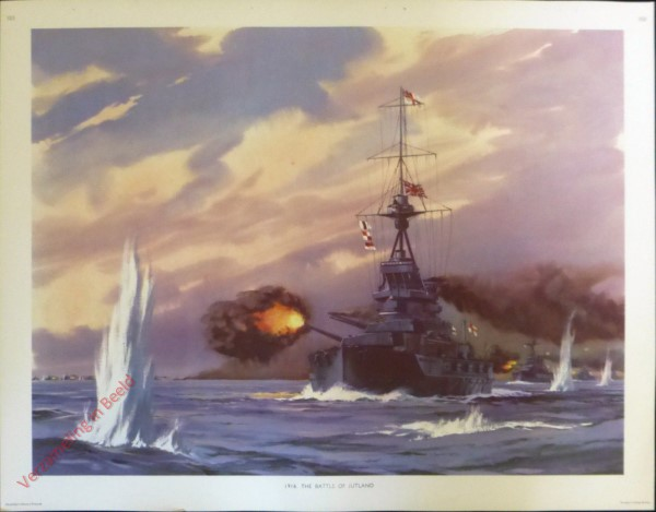 Set 3-153 - 1916. The Battle of Jutland