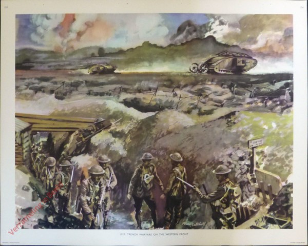 Set 3-154 - 1917. Trench Warfare on the Western Front