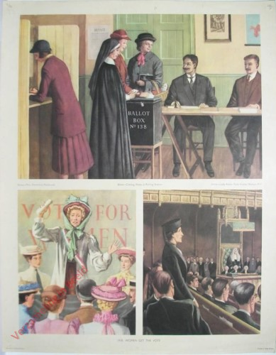 Set 3-155 - 1918. Woman get the vote