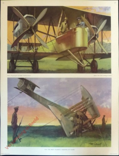 Set 3-157 - 1919. The First Atlantic Crossing by Plane