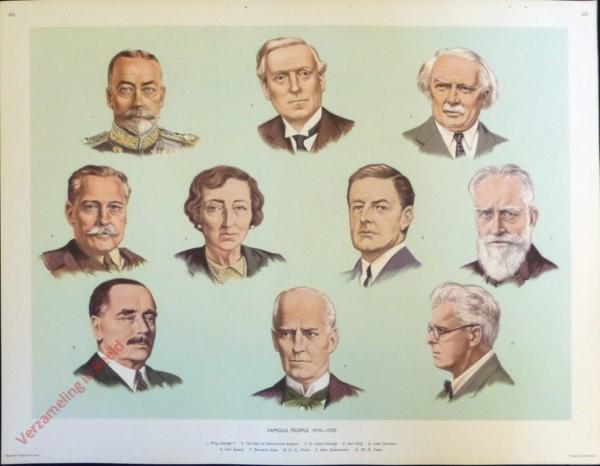 Set 3-163 - Famous People 1910-1930