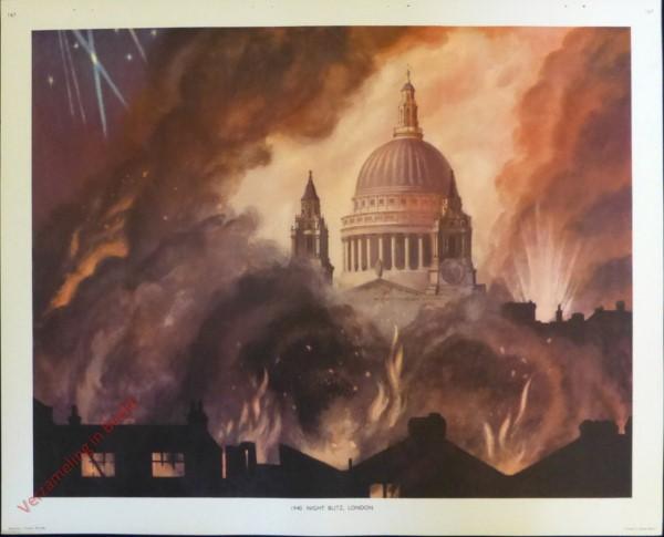 Set 3-167 - 1940. Night Blitz London