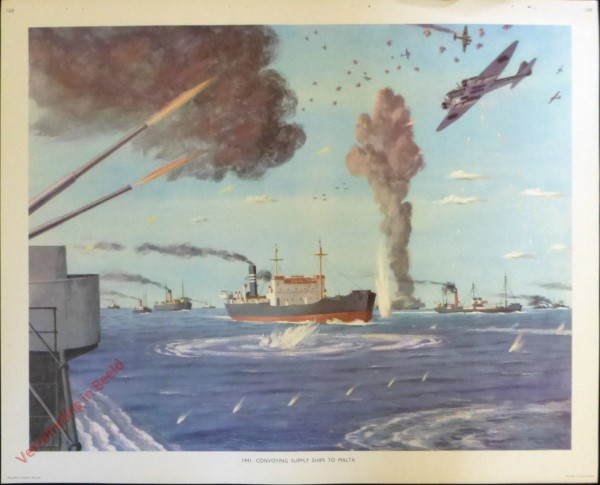 Set 3-168 - 1941. Convoying Supply Ships to Malta