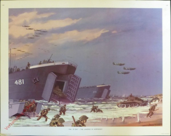 Set 3-169 - 1944. D-Day The Landing in Normandy