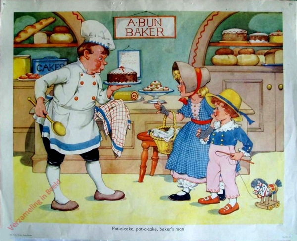 Set 2-25 - Pat-a-cake, pat-a-cake, baker's man
