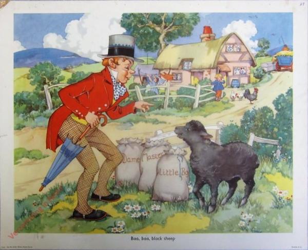 Set 2-27 - Baa, baa, black sheep