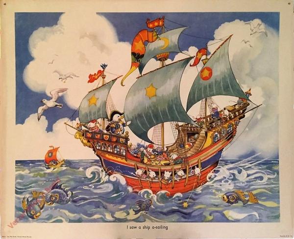 Set 2-48 - I saw a ship a-sailing