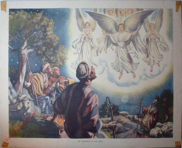 2 - The shepherds int he night