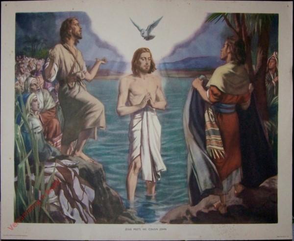 8 - Jesus meets his cousin John