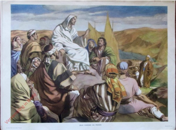 10 - Jesus chooses his friends