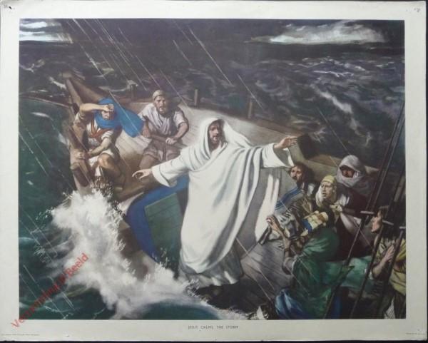 20 - Jesus calms the storm