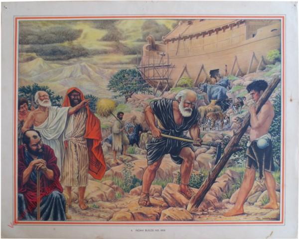 4 - Noah builds his ark