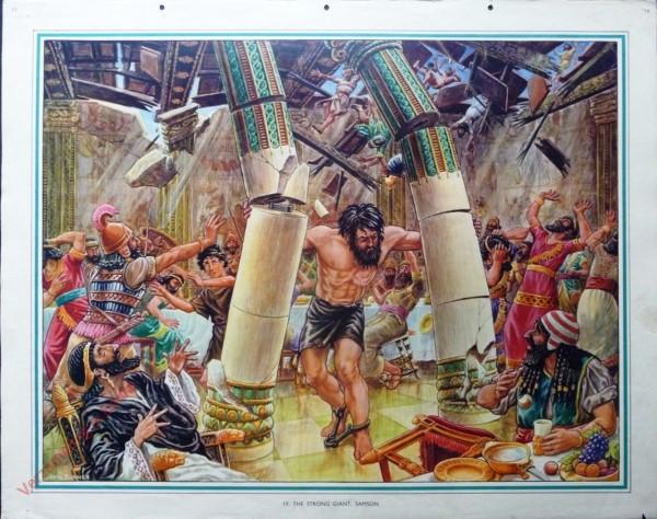 19 - The strong giant, Samson