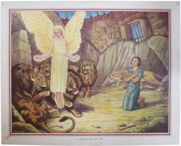 30 - Daniel in the Lion's den