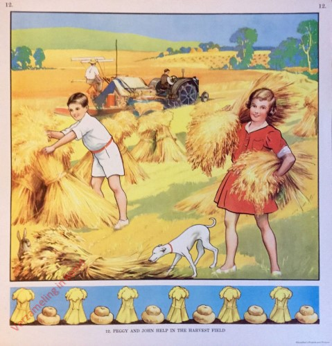 12 - Peggy and John Help in the Harvest Field