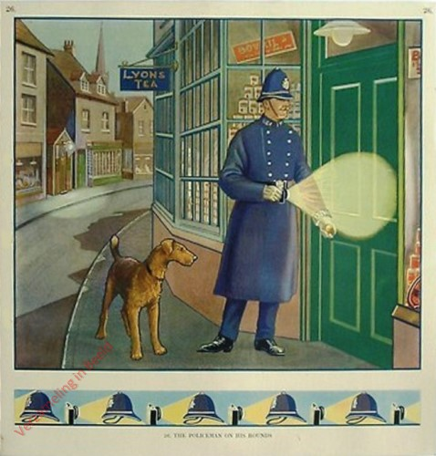26 - The Policeman on His Rounds
