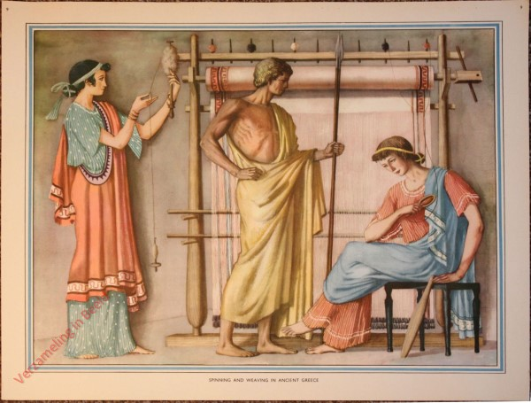 9 - Spanning and weaving in ancient Greece