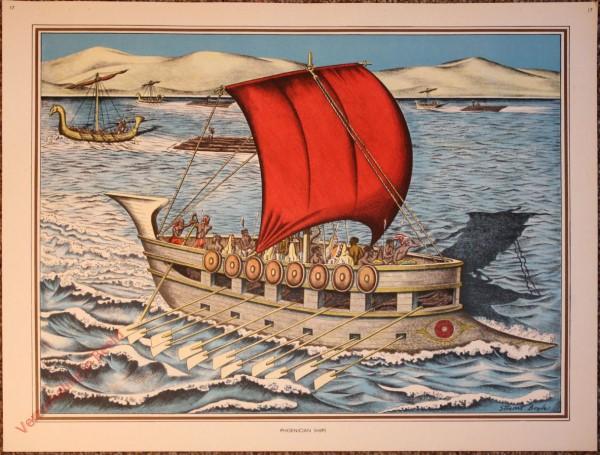 17 - Phoenician ships