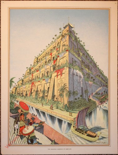 19 - The hanging gardens of Babylon