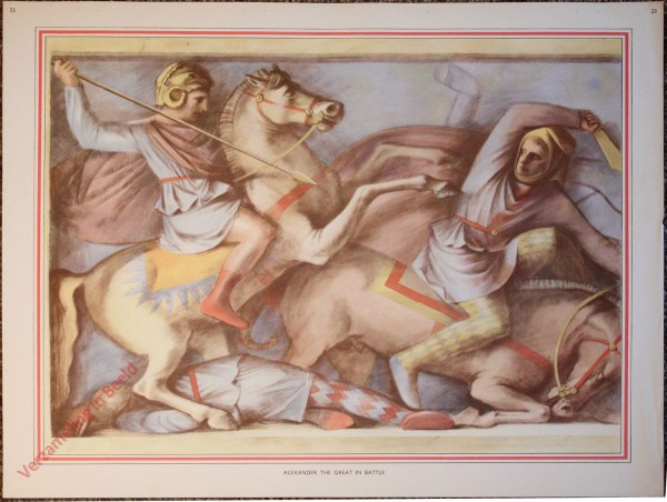 23 - Alexander the Great in battle