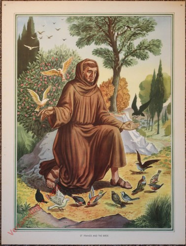 44 - St. Francis and the birds