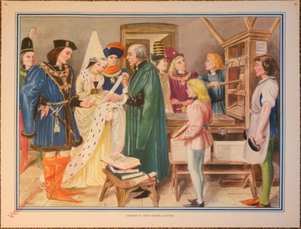 50 - Edward IV visits master Caxton