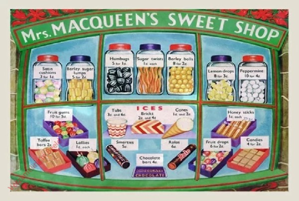 15 - Mrs. Macqueen's Sweet Shop
