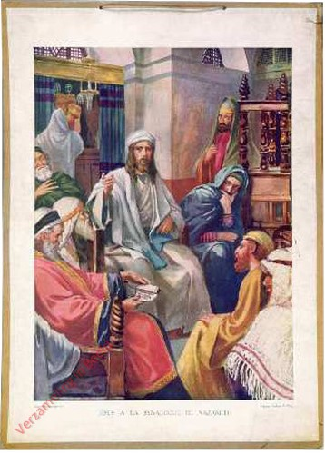 25 - Jezus in de synagoog te Nazareth