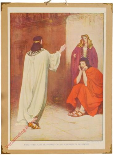 39 - Jozef verklaart de dromen van de schenker en de bakker