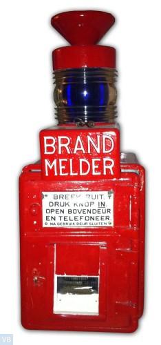 1927. Brandmelder 'Rode Wachter'