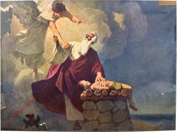 B5 - Abraham opfert Isaak