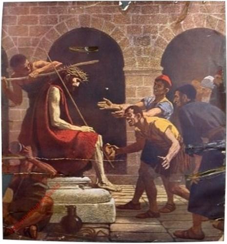 B20 - Jesus mit der Dornenkrone