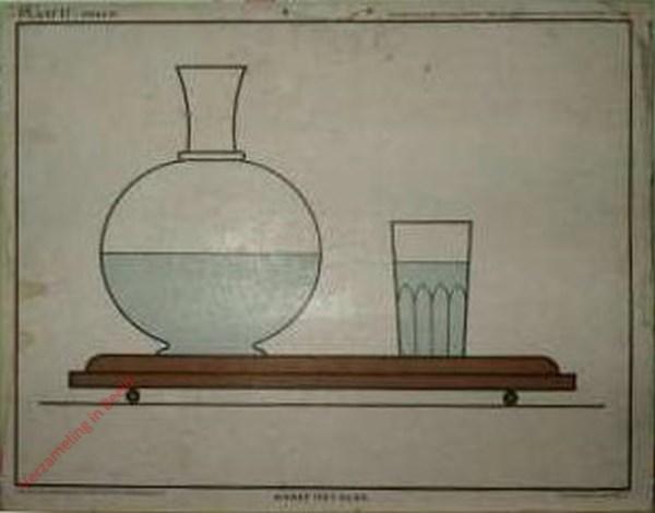 Karaf met glas