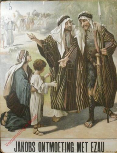 Jakobs ontmoeting met Ezau (Gen. 32: 3 - 32)