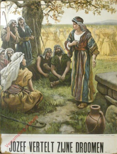 Jozef vertelt zijne dromen (Gen. 37)