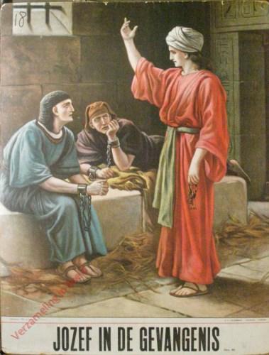 Jozef in de gevangenis (Gen. 40)