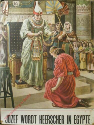 Jozef wordt heerscher van Egypte (Gen. 41)