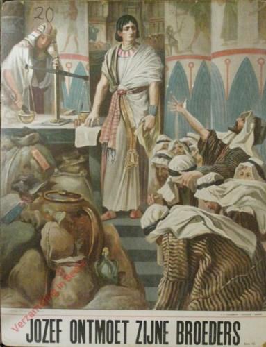 Jozef ontmoet zijne broeders (Gen. 42)