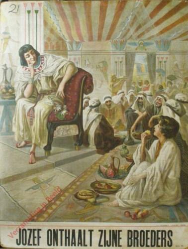 Jozef onthaalt zijne broeders (Gen. 43)