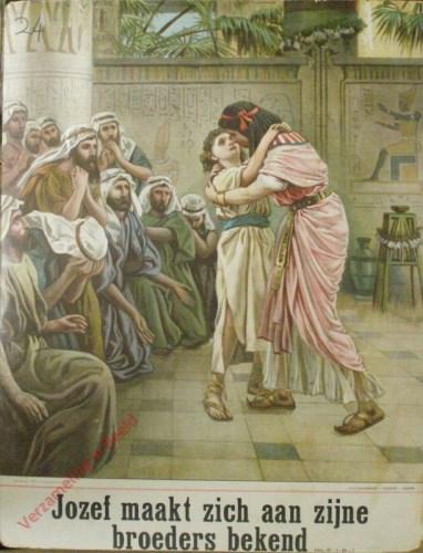 Jozef maakt zich aan zijne broeders bekend (Gen. 45 : 1 - 46 ; 7)