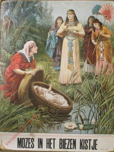 Mozes in het biezen kistje (Ex. 2: 1 - 10)