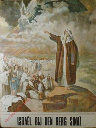 Isra�l bij de berg Sina� (Ex. 19)
