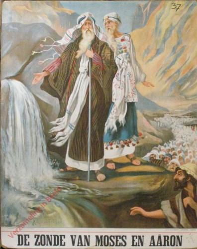 De zonde van Moses en Aaron (Num. 20: 2 - 3)